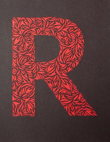 Custom paper cut letters-3