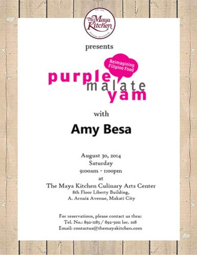 purple yam invitation