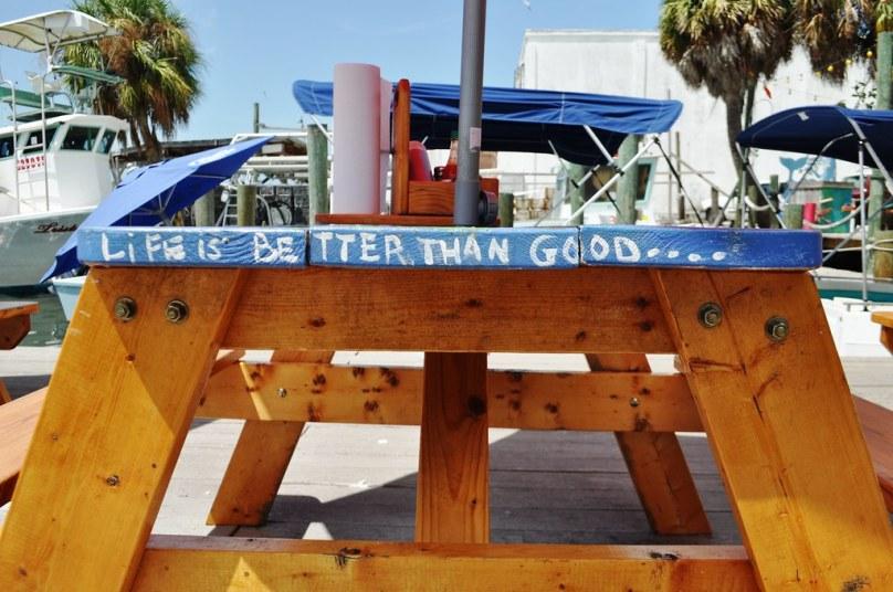"""Life is Better than Good..."" Star Fish Company Market & Restaurant, Cortez, Fla., Aug. 30, 2014"