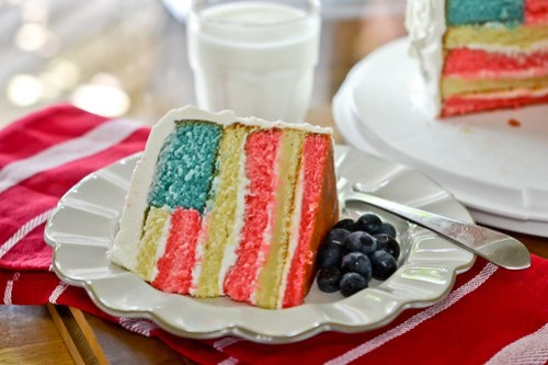 Flag Cake-17