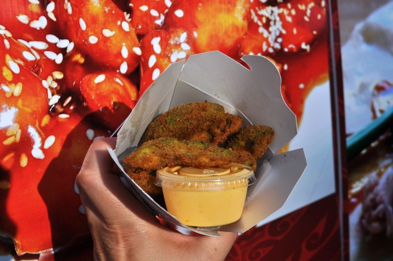 Deep-Fried Avocado Fries - Erie County Fair, Hamburg, N.Y., Aug. 10, 2014