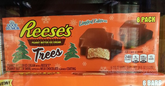 Good Humor Limited Edition Reese's Peanut Butter Ice Cream Trees