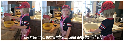 Baking with Mommy