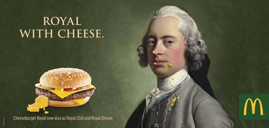 McDonald's - Royal with Cheese