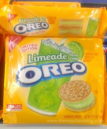 Nabisco Limited Edition Limeade Oreo