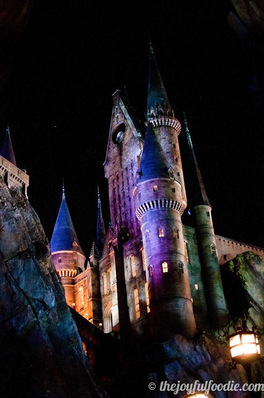 Hogwarts Tower at Night
