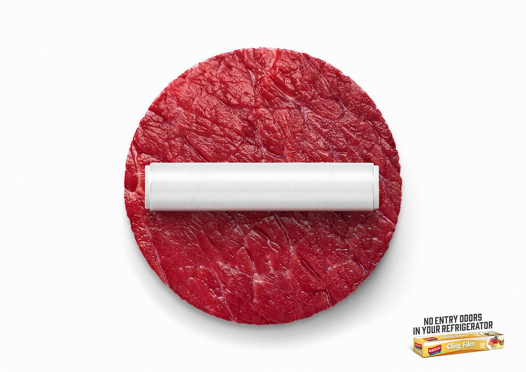 Koroplast Cling Film- No Entry Beef