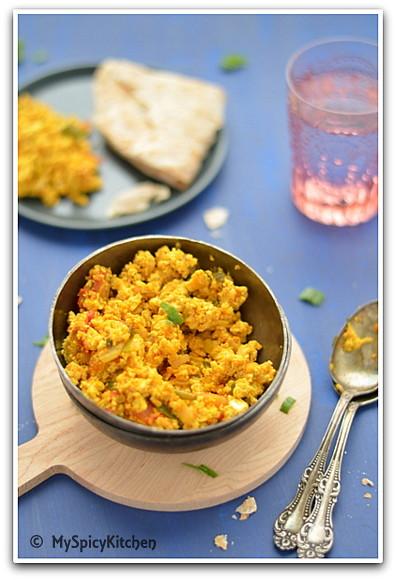 Cooking from Cookbook Challenge, Tofu Bhurji, Tofu Recipe, NYT Tofu recipe