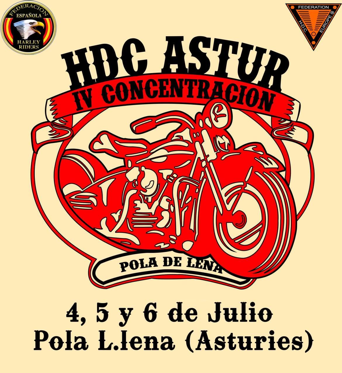 IV Concentración HDC Astur - Pola de Lena (Asturies)