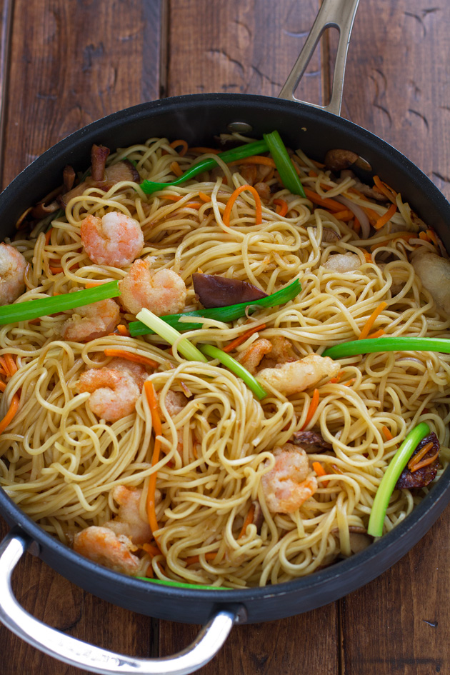 Shrimp Lo Mein Recipe Food Network