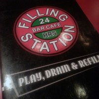 Burgers, pizza, milkshakes, breakfast all day... Filling Station is where they at