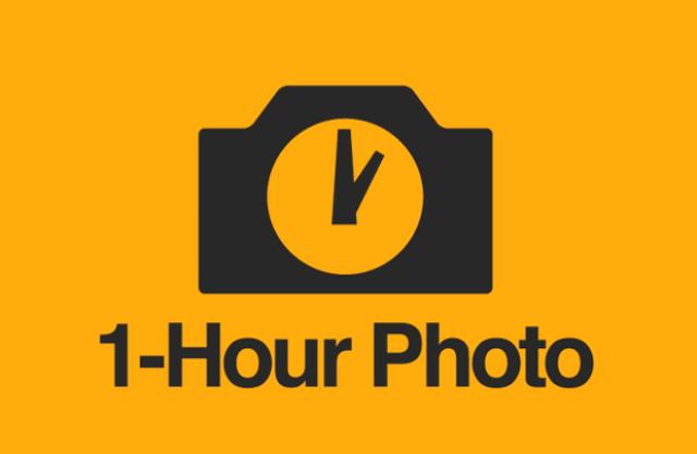 1 HOUR PHOTO LOGO