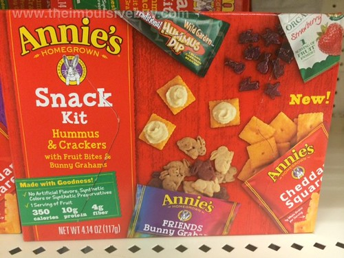 Annie's Hummus and Crackers Snack Kit
