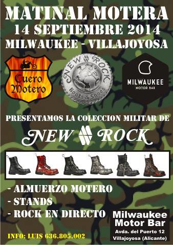 Matinal Motera Milwuake - Vilajoyosa (Alicante)