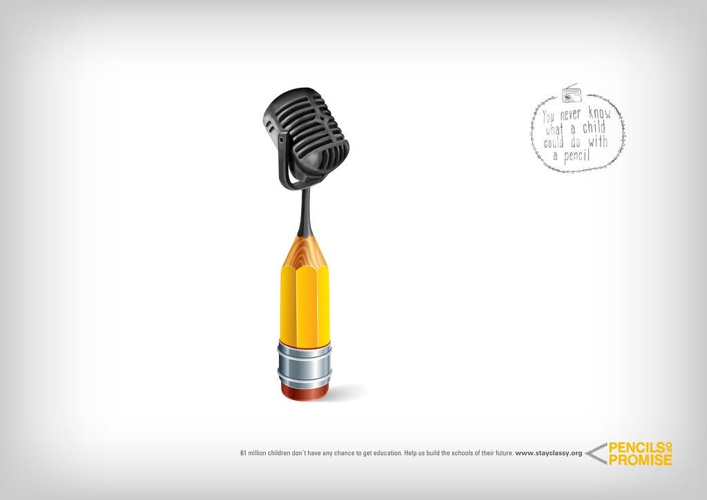 Pencils Promise - Microphone