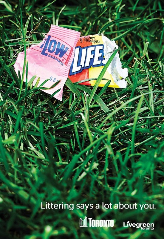 Littering Says a Lot about you 3