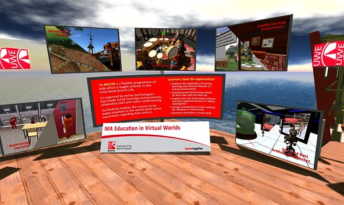 UWE Education In Virtual Worlds MA