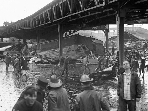 James at the Boston Molasses Flood