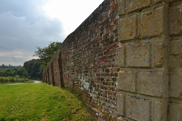 Photo:Boughton Estate Wall. By:Sunchild57 Photography. Taking a break.