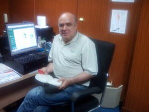 Javier Bustamante, promotor de The Open Shoes.