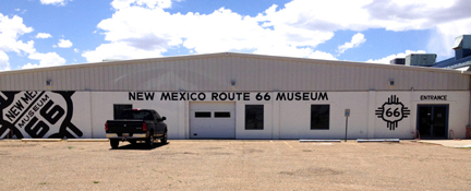 New Mexico Route 66 Museum - exterior