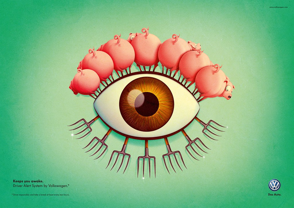 VW - Pig Awake Eye