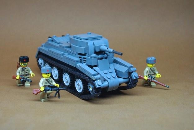 Soviet BT-7 Cavalry Tank (1)