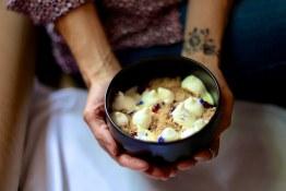 Condensed Sweet Potato, Burnt Cedar Cream, Cranberry, Malted Milk Crumbs | Blacktail Florist