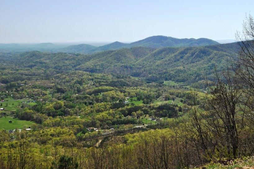 Overlooking the Shenandoah Valley, Va.