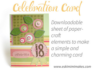 Celebration Greetings Card Elements