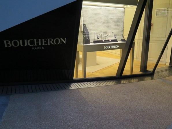 Boucheron store Pavillons de Monte Carlo