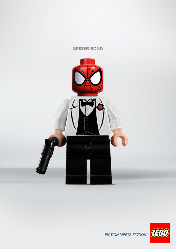Lego - Fiction meets Fiction SpiderBond