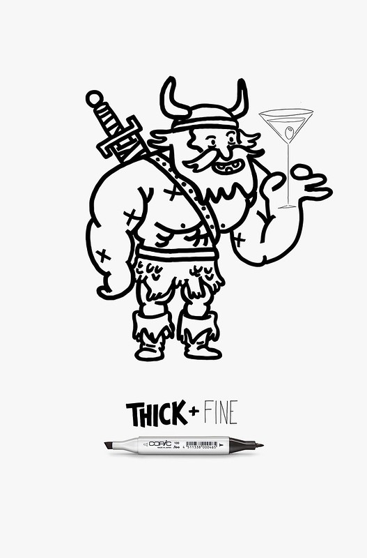 Copic Thick + Fine - Viking