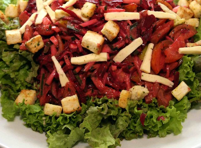 Romulo garden salad