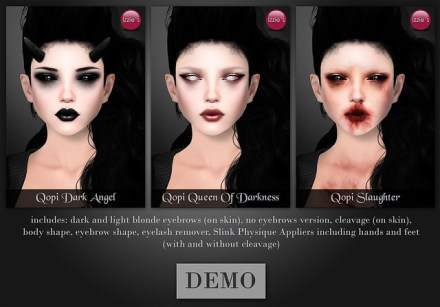 Uber (Qopi Skins, Demon Eyes and Horns)