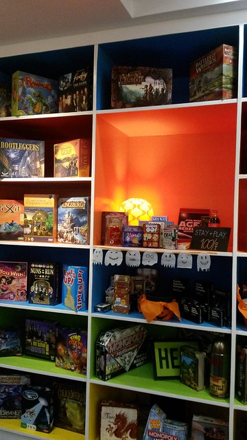 Shelves of games