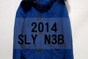 網購日貨|2014 SLY N3B 短版1號 藍色 ♥.看了這麼多年,終於把你買回家了!!(價格、細節、實拍)