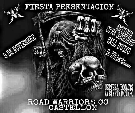 Presentación Road Warriors CC Castellón