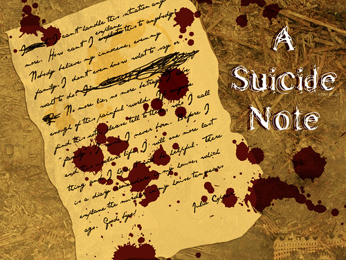 A Collection of Suicide Notes & Letters