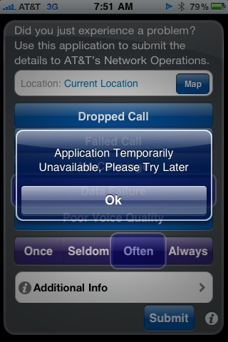 AT&T Mark the Spot - fail