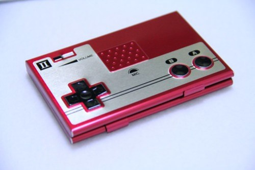 NES Card Case Front