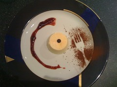 Mijn creatie, het dessert...