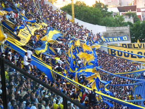 Boca fans, los xeneizes, los bosteros, los doce
