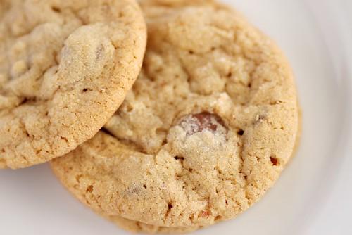 peanut butter pecan cookies