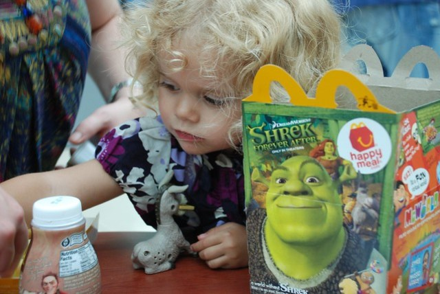 Violet's First Happy Meal