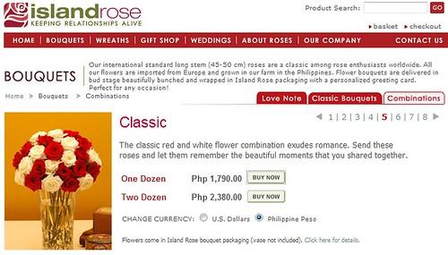 Roses for Valentines from IslandRose.net