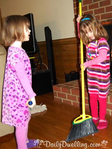 sisters-sweeping
