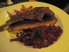 sauced restaurant - ribs confit