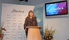 Cindy Ady, MLA Calgary-Shaw, Minister of Tourism, Parks and Recreation