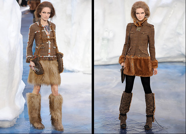 Chanel Fall / Winter 2010-2011  Ready-to-Wear collection